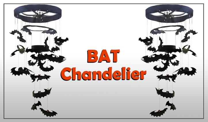 Bat Chandelier Slide