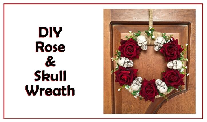 Sky Rose Wreath
