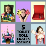 5 Toilet Roll Crafts Square