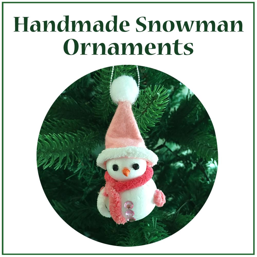 Snowman ornament slide