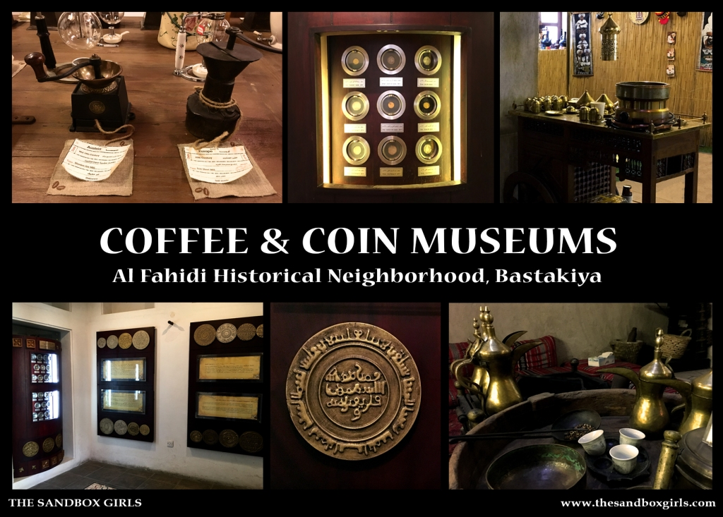 Coffee & Coin Museums - The Sandbox Girls