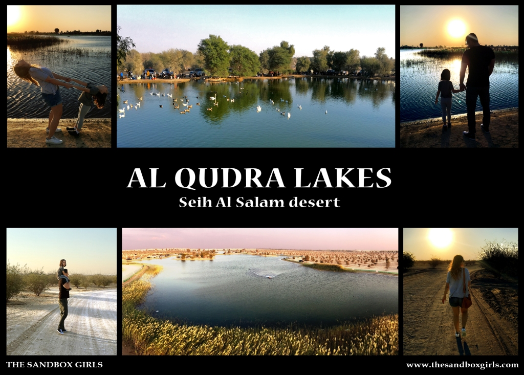 Al Qudra Lakes - The Sandbox Girls